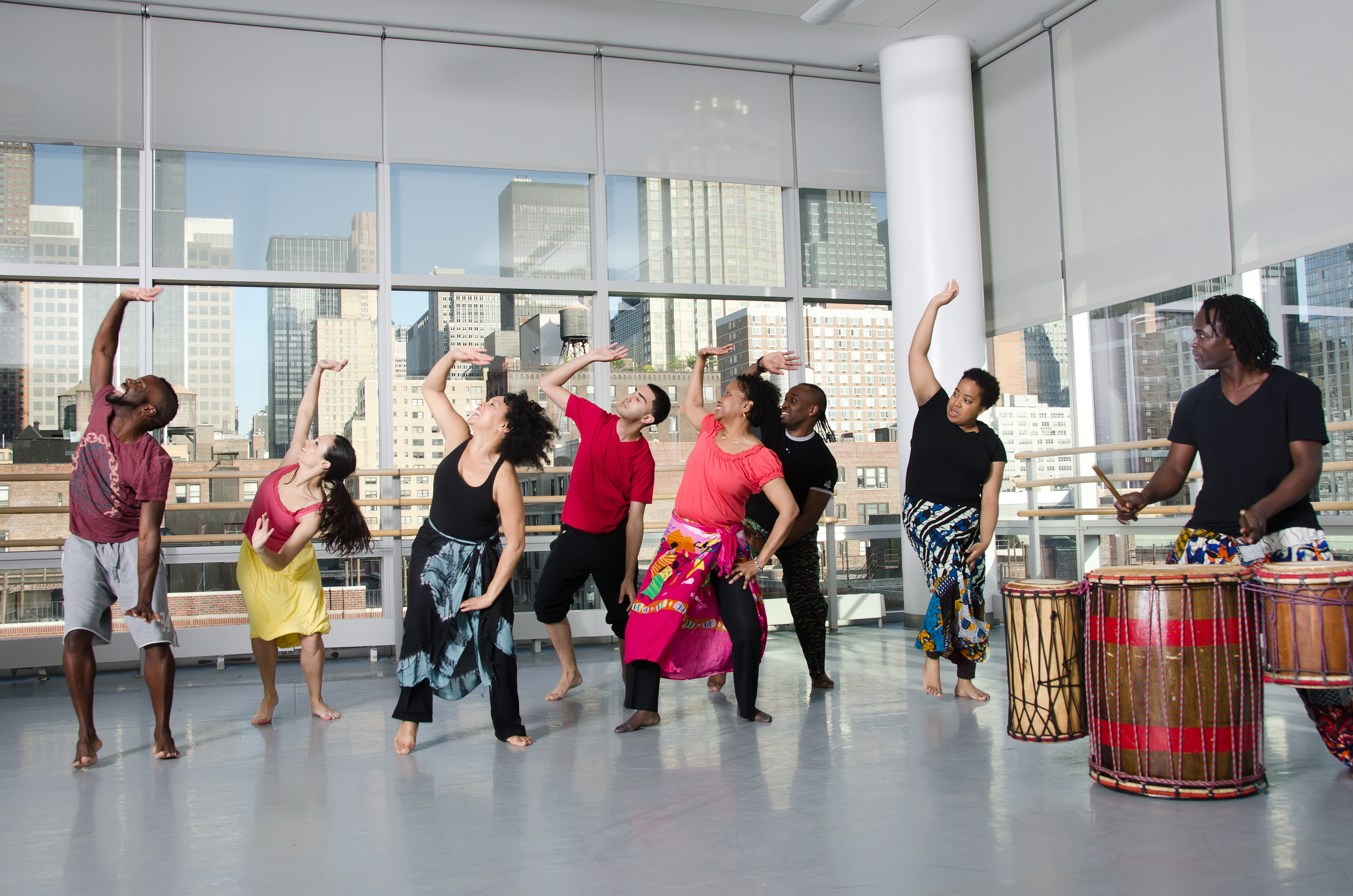 Beginner West African Ailey Extension